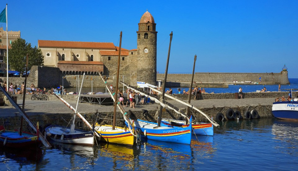Collioure,joyau de la Méditerranée, site atypique, décor de carte postale