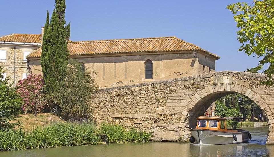 pont sur le canal du midi