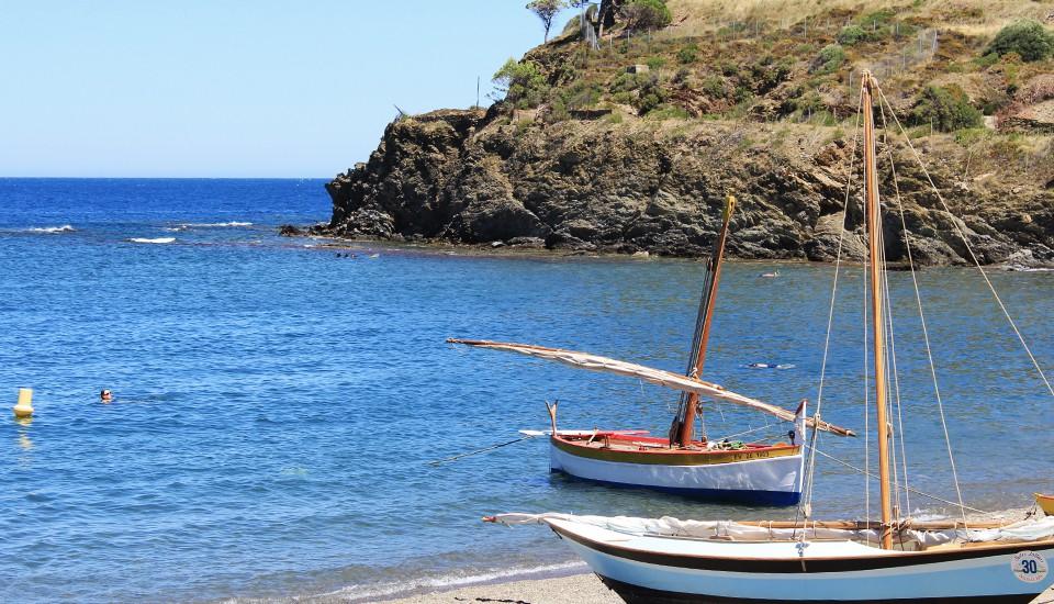Paulilles et les barques catalanes